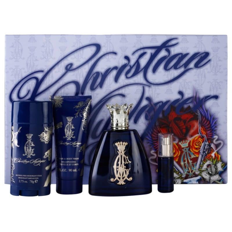 Christian Audigier For Him Gift Set  I.