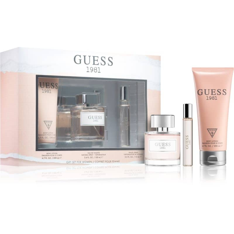 Guess 1981 Gift Set  II.