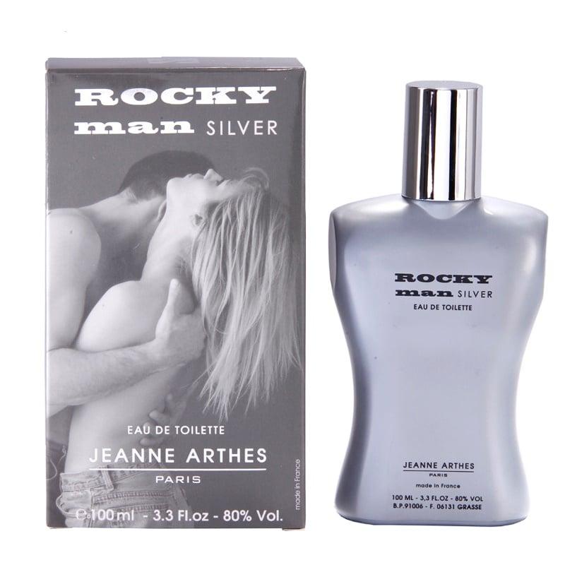 Jeanne Arthes Rocky Man Silver Eau de Toilette