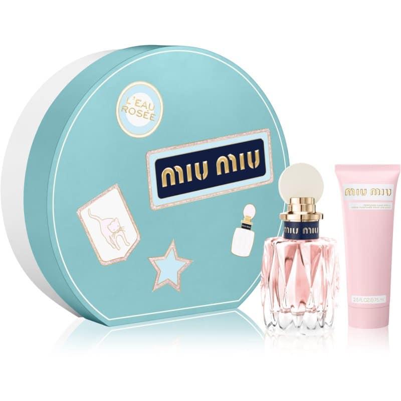 Miu Miu L'Eau Rosée Gift Set  I.