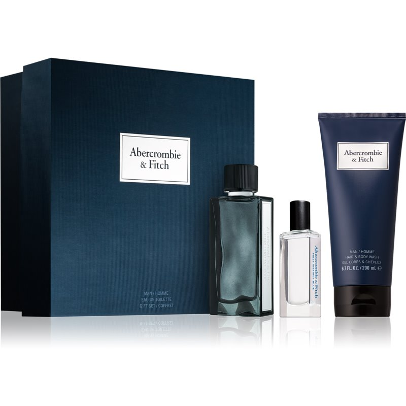 Abercrombie & Fitch First Instinct Blue Gift Set  M.