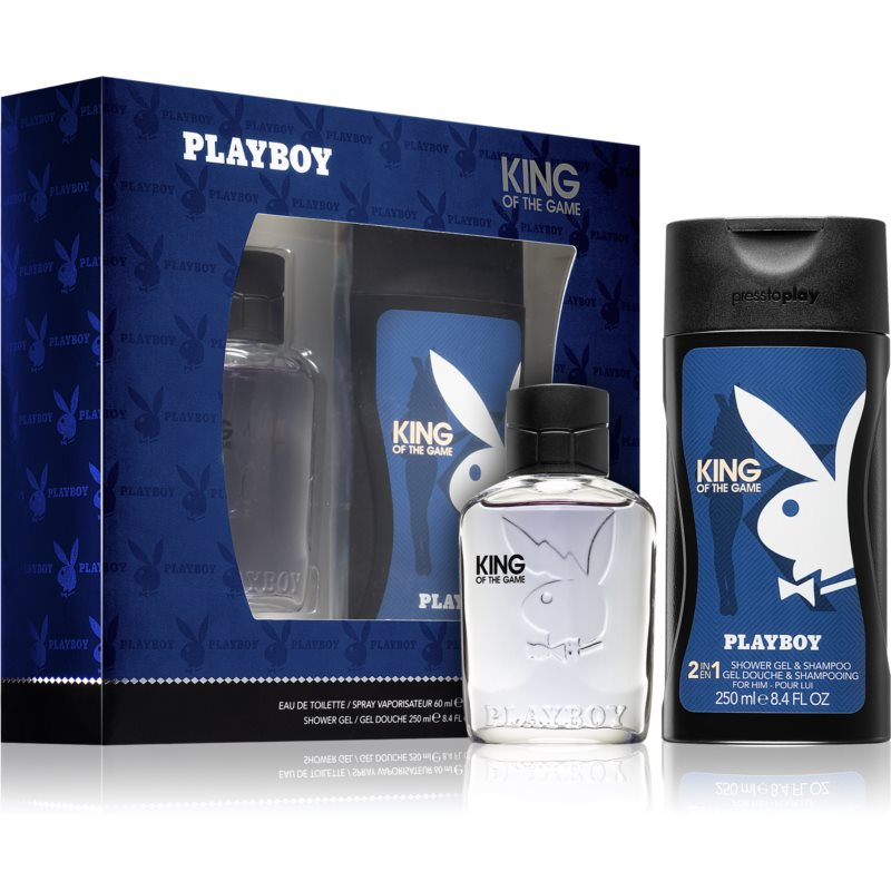 Playboy King Of The Game Gift Set  I.