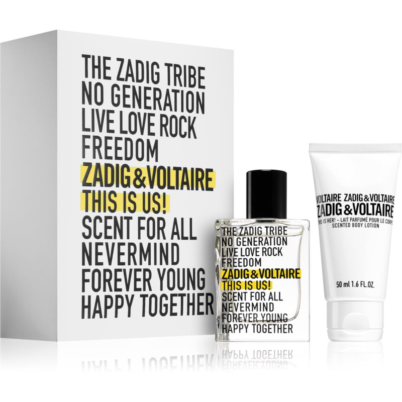 Zadig & Voltaire This Is Us! Gift Set  I.