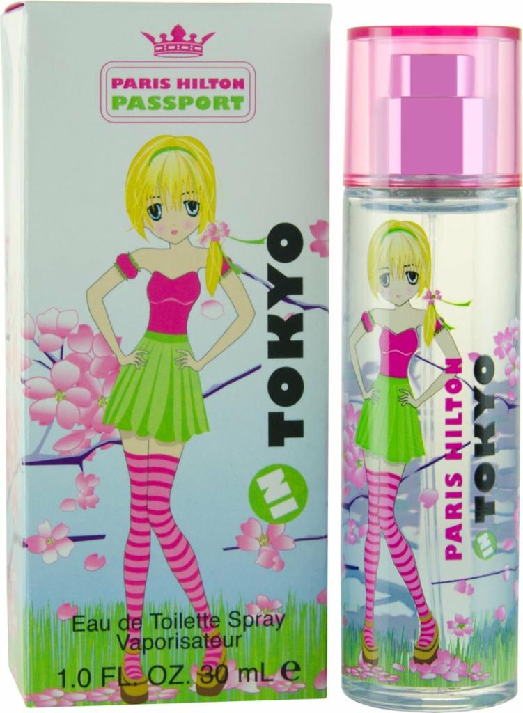 Paris Hilton Passport In Tokyo Eau de Toilette