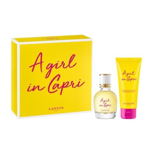 Lanvin A Girl in Capri Gift set