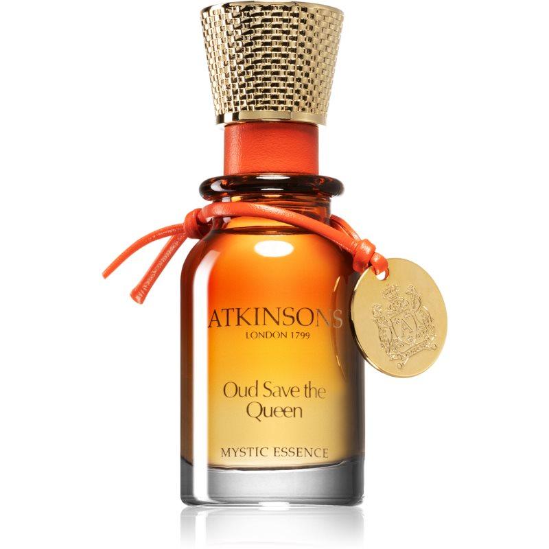 Atkinsons Oud Save The Queen geparfumeerde olie  (alcoholvrij)