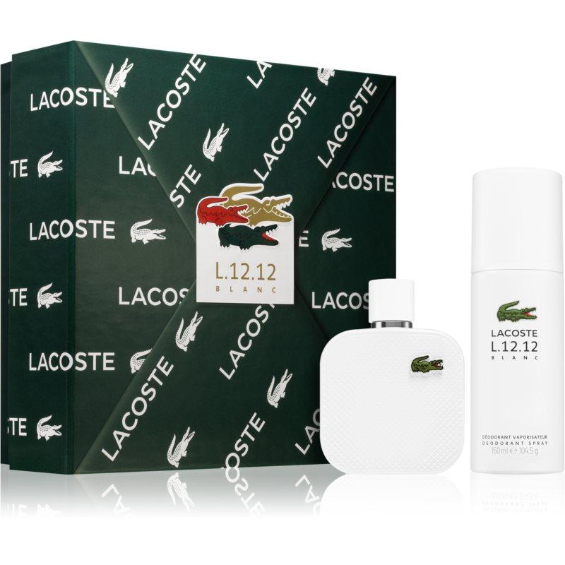 Lacoste Eau de Lacoste L.12.12 Blanc Gift Set  (